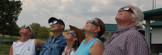 eclipse watching